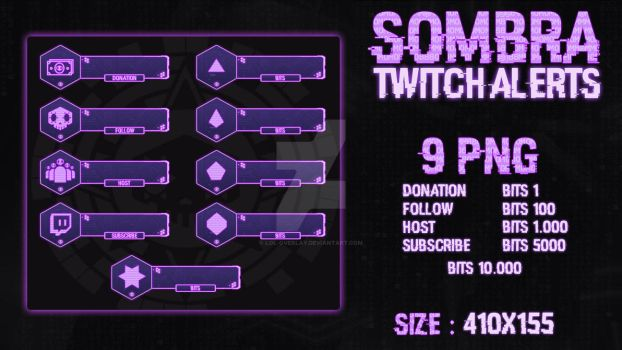Sombra - Twitch Alerts by lol0verlay