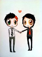 Frerard by catchyoulikeacold
