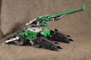 Wildsbokke Main Battle Tank: Hero Factory MOC by welcometothedarksyde