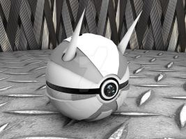 Aggron Pokeball by Sara-A2
