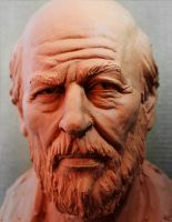 Man bust study by glaucolonghi