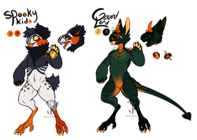 Totally-Not-Halloween Grem2 Auction [CLOSED] by Salisburies
