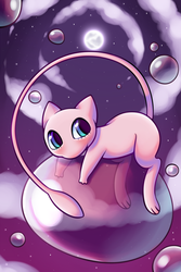 Mew by YellowFeatherBolt