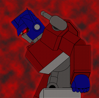 Convoy frame- Optimus, limiter release by Combatkaiser