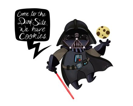 Come to the Dark Side. We have cookies. by GTOxOT