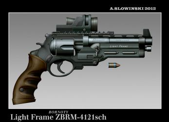 Light Frame ZBRM-4121 Revolver by BlackDonner
