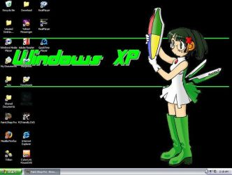 My new windows xp desktop by coyotex