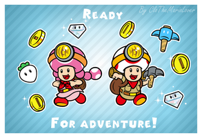 .:Toads on the way:. by ThePinkMarioPrincess
