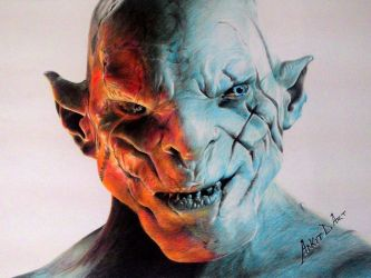 Azog - the Defiler by Ankredible