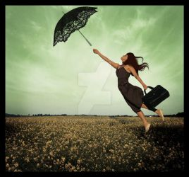 My dream is to fly by Ameliethe