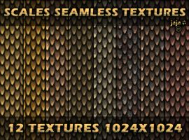 Scales seamless textures by jojo-ojoj