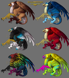 Griffin Samples by rigganmore