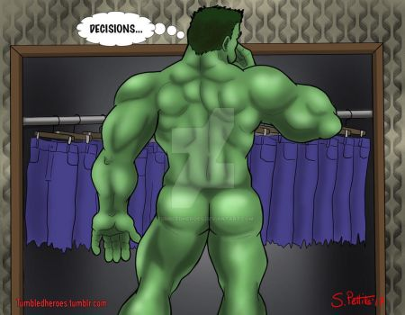 The Incredible Hulk: Decisions by TumbledHeroes