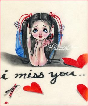 I miss you by Katerina-Art