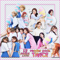 [PACK RENDER #77] 13 PNGS - TWICE by RinYHEnt