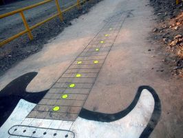 Hopscotch of Rock and Roll by Johnny-Aza