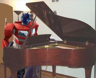 Optimus Prime: Musician's Soul by KimonoDragon