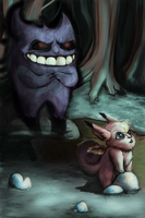 .: 94 Gengar and 36 Clefable:.