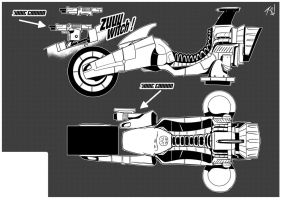 TACTICAL FILES: The Pod Runner (B/W) by Foxy-Knight