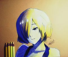 Tokyo Ghoul ~ Touka by chedil