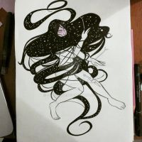 Notes in constellations by oldiearte