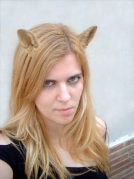 girl with fox ears by santiagocamps