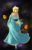 Queen of the Cosmos by PixelMagus