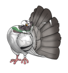 Fantail Pigeon by king-asriel