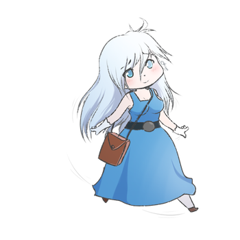 Opaline the Human [Personal] by Kientrae
