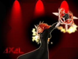 Another Axel Wallpaper? o_O by DarkSoulRockman