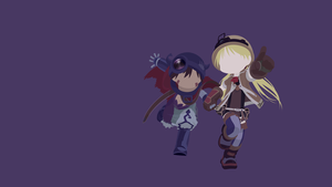 Reg + Riko (Made in Abyss) Minimalist by Luridu
