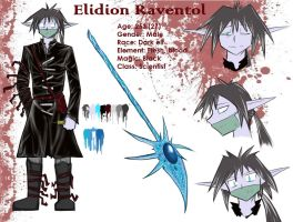 Elidion Raventol - charater sheet by Do-omed-Moon