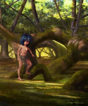 The Jungle Book - Mowgli by thiagogrusmao