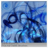 Fractal Swirls Brushes by Scully7491