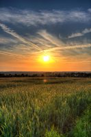 HDR sunsets by CrawlingGirl