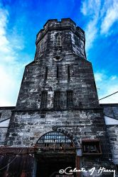 Abandoned Penitentiary - Tower by cjheery
