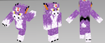 Dorumon Minecraft Skin by Wyndbain