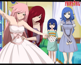 Fairy Tail OC~Getting ready to marry by KendyPun