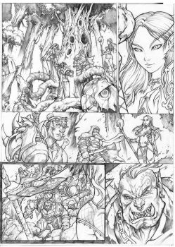 WARCRAFT test page 1 by paulobarrios