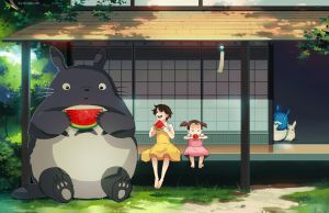 My Neighbour Totoro by ofSkySociety