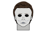 Kisekae Masks #1: Michael Myers by TheAnimeFan2015