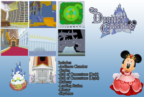 Disney Castle Stages DL by crystalwingskeyblade