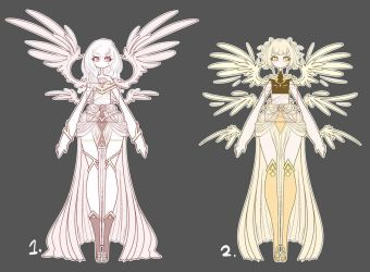 Goddess Adopts set price ( points or paypal ) by Ryxner