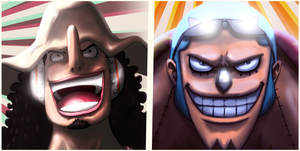 Usopp and Franky by dDsign