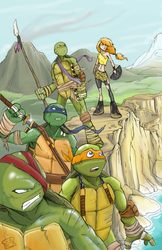Savage Land TMNT by BrotherToastyCakes