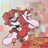Circus Baby - FNAFsl Fanart by Sidoodled
