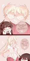 Suicide Siblings: 7# What's Your Kink? by SecretNarcissist