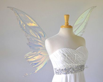 Titania fairy wings with Swarovski crystals by FaeryAzarelle