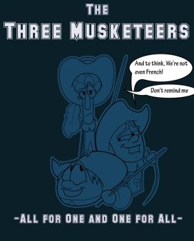 The Three Musketeers by Kenny-boy
