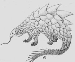 Retrosaur Challenge 9: Spike-Tailed Goliath by SaurArch